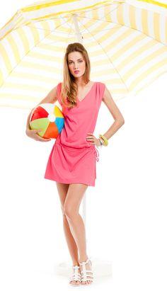 noidìnotte € 13,90  ABITINO DONNA TROPICAL SPALLA LARGA COTONE Collezione Spring/Summer 2012   #pigiama #easywear #look