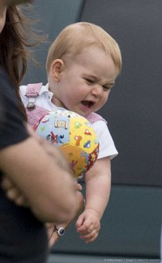 6/15/14. Hahaahhhha Prince George, he is so sweet when he is crying for something I don't what is it God bless him.
