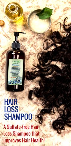 A Sulfate-Free Hair Loss Shampoo that Improves your Hair Health