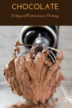 Homemade Frosting, Chocolate Buttercream Frosting, Frosting Recipes, Just Desserts, Delicious Desserts, Yummy Treats, Sweet Treats, Crockpot, Glaze Recipe