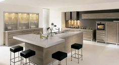 Simple and Elegant Kitchen Interior Design, Alno Lifestyle by Alno, AlnoStyle #dreamsNdestinations