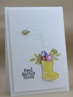 I don't think this is a stampin up set, but it sure is a cute way to focus on the color.