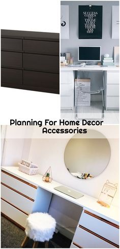 Planning For Home Decor Accessories - ikea-dresser-hack Home Decor Accessories, Decorative Accessories, Ikea Dresser Hack, Home Office, How To Plan, Home Offices, Office Home
