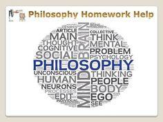 Philosophy logic homework help