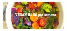 Como comer bem com apenas 50 reais por semana e vegan Alana Rox