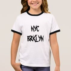 NYC BRKLYN Girl T Shirt
