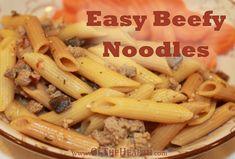 Easy Beefy Noodles recipe