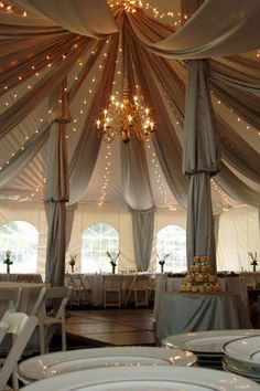 Wedding reception lighting #weddinglighting #wedding http://www.roughluxejewelry.com/