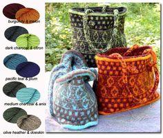 Knit Witts Yarn Shop  Fair Isle Tote Kit http://www.pinterest.com/source/knitwitts.com/