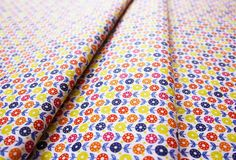 Fabric Finders #1127 Multi Floral Yellow Orange