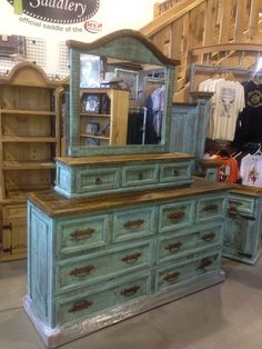 1000 images about Turquoise wash rustic bedroom furniture