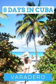 Where to eat, where to stay, and what to do while in Varadero Cuba. Tessa Juliette | http://travelwheretonext.com/cuba