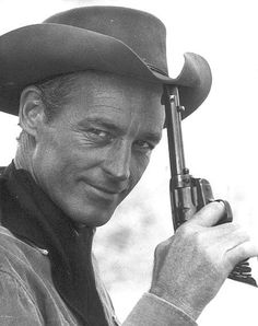 Guy Madison as TV's Wild Bill Hickock, 1950s