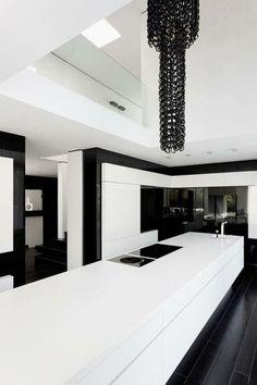 schwarz weiß wohnzimmer einrichten weiss schwarz muster | Pinterest