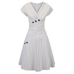 Pinup Fashion Women's V Neck Short Sleeve Summer Casual E... https://www.amazon.com/dp/B07CGFZTHP/ref=cm_sw_r_pi_dp_U_x_dWrhBbY2P8PE9