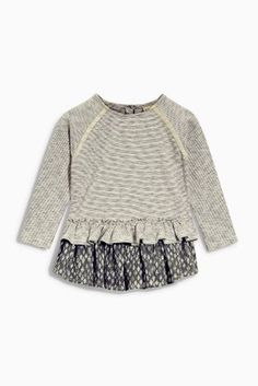 Buy Frill Hem Tunic (3mths-6yrs) online today at Next: United States of America $16