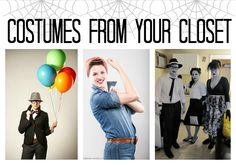Costumes from your closet :). #halloween #diy