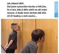 Jak zabavit děti | Loupak.cz