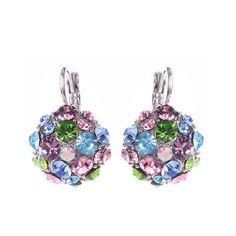 New listing, Colorful #Rhinestone #Earrings, Very Fashion, http://www.beads.us/product/Rhinestone-Earring_p275723.html?Utm_rid=194581