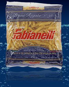 Penne Rigate dorum wheat semolina pasta