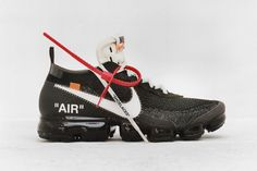 """Your first look at Off-White designer Virgil Abloh's """"reconstruction"""" of ten of the Swoosh brand's most iconic sneakers, from the Air Jordan 1 to the Air Max Nike Air Max, Air Max 97, Air Max Sneakers, White Sneakers, Sneakers Nike, Nike Free, Fashion Mode, Look Fashion, Nba Fashion"""
