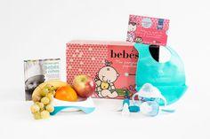e-canastilla baby little chef. Encontrarás todo lo necesario para realizar las papillas de tu bebé. Incluye una cesta de fruta ecológica.