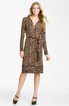 MICHAEL Michael Kors Chain Lace Up Dress available at #Nordstrom
