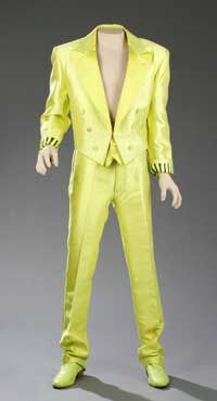 """Another William Ivey Long 1985 """"tux"""" worn by David Cassidy"""