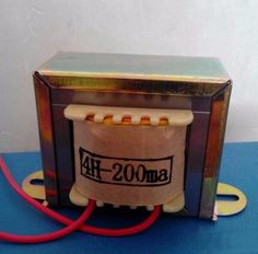 IWISTAO 4H/200mA Tube Amp Choke Coil 1pc Pure OFC Wire for Tube Amplifier Filter Audio HIFI DIY