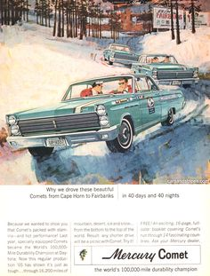 1965 Mercury Comet - We couldn't build Comet much tougher - Original Ad