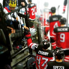 One of the reasons why I love hockey <3