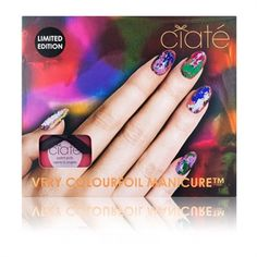 Ciaté Carnival Couture Very Colourfoil Manicure™ Set #VonMaur #Ciatè #Nails #NailArt