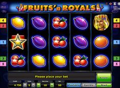 Slot machine Fruits N Royals Deluxe. This online slot has very bright colors, and the main role in it played by fruit and representatives of the royal family. The machine Fruits'n Royals Deluxe has 5 reels and as many paylines. And to change the number of active lines is impossible. In the slot there is a symbol Scatter, as well as a