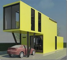 Shipping Container Home Designs - Bing Images containerliving.net