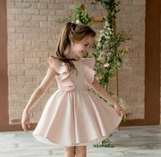 To place order DM us or whatsapp on 6394837380 Kids Dress Wear, Kids Gown, Toddler Girl Dresses, Little Girl Dresses, Toddler Outfits, Girls Dresses, Flower Girl Dresses, Toddler Fashion, Kids Fashion