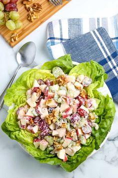 Healthy Waldorf Salad - Easy Budget Recipes