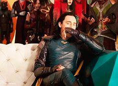 "loki-god-of-menace: """"I can't handle this… Source. "" "" Don't be nervous, my king. 😏 loki-god-of-menace: """"I can't handle this… Source. "" "" Don't be nervous, my king. Loki Thor, Loki Laufeyson, Marvel Avengers, Loki Gif, Avengers Humor, Thomas William Hiddleston, Tom Hiddleston Loki, Tony Stark, Clint Barton"