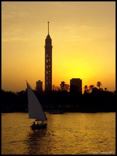The Cairo Tower is a free-standing concrete tower located in Cairo, Egypt.
