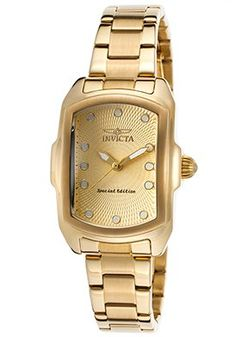 Women's Special Edition Lupah 18K GP Stainless Steel Gold-Tone Dial