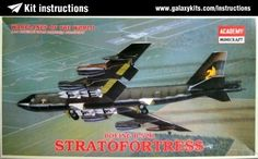 Box cover for Academy Boeing B-52H Stratofortress in 1:144 scale