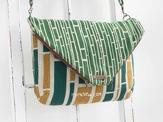 1112 Annabella Fold over Bag Bag PDF Pattern - New Release Sale! 50% Off!