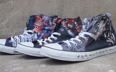 Converse DC Comics Shoes Collection - http://www.soleracks.com/converse-dc-comics-shoes-collection/-#ClassicSneakers, #converseshoes, #Featured