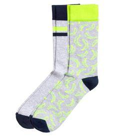 Pack of 2 socks | H&M GB