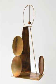 Sculpture by Fausto Melotti, Italian artist.