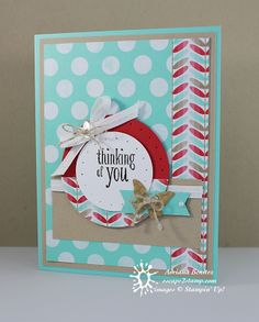 Escape2stamp: Stampin' Up! Fresh Prints Designer Series Paper Stack