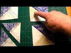 How to Quilt - Interlocking Chevron Quilt Pattern Video