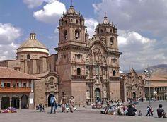 CITY OF CUZCO - PERU - IGLESIA DE LA COMPANIA DE JESUS