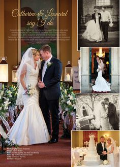 "My Waterford March 2013 also features Catherine & Leonard's ""I Do"", great pics, great couple."