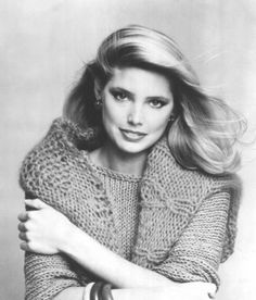 Kelly Emberg (shown in 1980) says she had no interest in modeling — until her mother got her work making $75 an hour