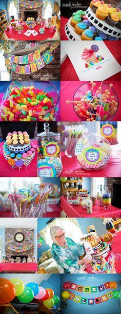 Candyland first birthday party  © Sarah Jordan Photography  www.sarahjordanphoto.com